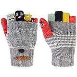 Barts Unisex Baby Handschuhe Puppet Bumgloves, Grau (Heather Grey 002h), 3(4-6y)