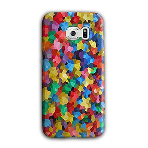 Pattern Colourful Print Candy Life 3D Samsung Galaxy S6 Edge Case | Wellcoda