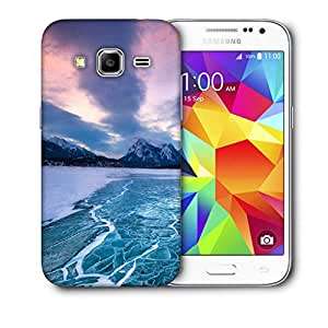 Snoogg Nature Frozen Sea Printed Protective Phone Back Case Cover For Samsung Galaxy CORE PRIME