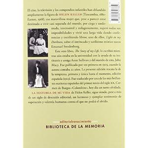 La Historia De Mi Vida (Biblioteca de la Memoria, Serie Menor)