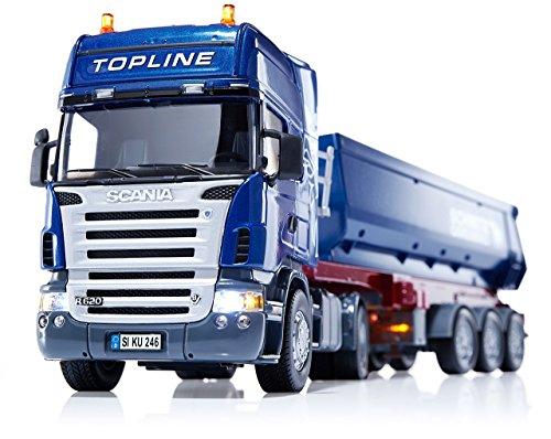Imagen principal de Siku 6725  - Descarga de camiones Scania Set con módulo de control remoto (colores surtidos)