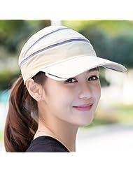 Hyun times Vider le chapeau de dessus extérieur extérieur extérieur coucher de soleil coucher de soleil chapeau pliant