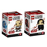 Lego BrickHeadz Star Wars 2er Set 41602 41603 Rey + Kylo Ren