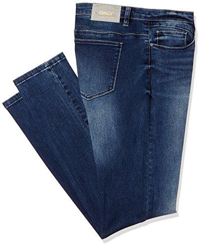 ONLY Damen Jeanshose Onlcoral SL Dnm Jeans GUA12919 Noos, Blau (Medium Blue Denim), W28/L32 (Herstellergröße: 28) (Indigo Jeans Medium)
