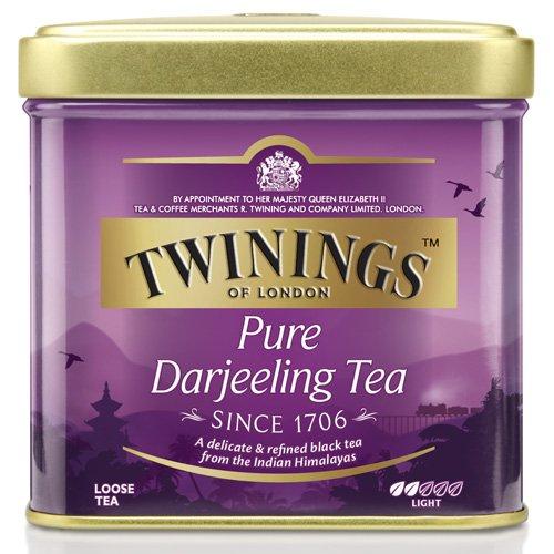 Twinings Darjeeling Tee lose Dose 100 g