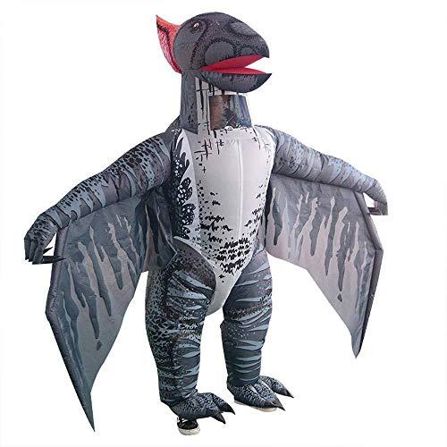 150~195 cm Pterosaur Aufblasbarer Anzug Halloween Erwachsener Maskerade Show Kostüm Halloween-heikle Karikatur-Puppe Kostüm Cosplay Dinosaurier Anzug (Puppe Kostüm Für Ihren Tanz)