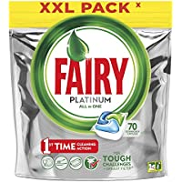 Fairy Platinum Dishwasher Tablets, 70 Tablets