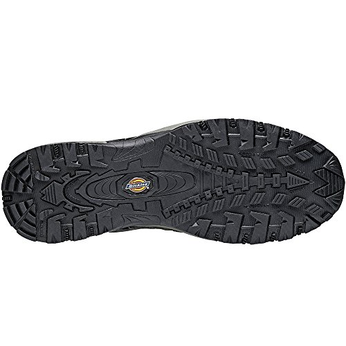 Dickies Mens Gironda Safety Composite Toe Cap Midsole Leather Trainers Nero