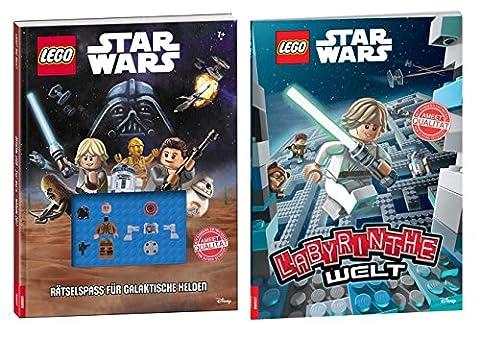 Lego Star Wars™: Rätselspass für galaktische Helden + Lego Star Wars™ Labyrinthe Welt - SET