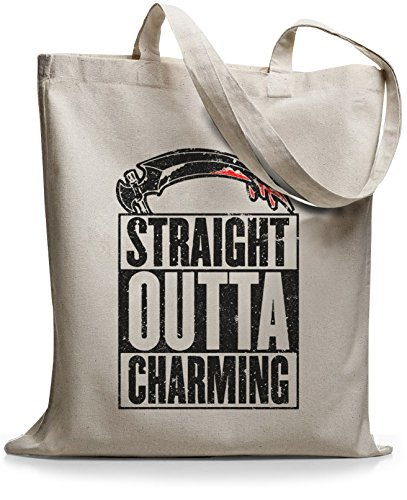 StyloBags Jutebeutel / Tasche Straight outta Charming Natur