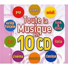Coffret 10 CD Toute la Musique