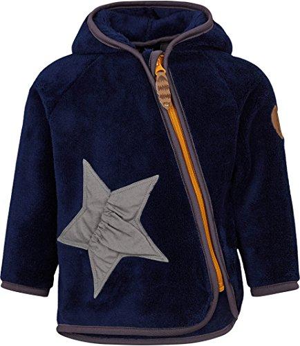 Racoon Baby-Jungen Jacke Hans Teddyfleecejacke, Blau (Medieval Blue Med), 86