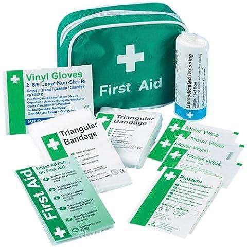 Safety First Aid K306 - Kit de primeros auxilios para 1 persona