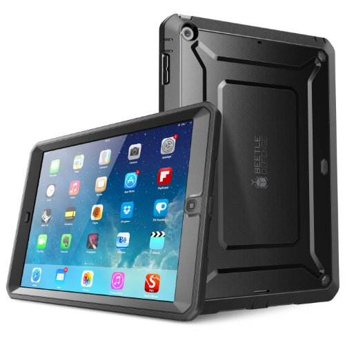 SUPCASE iPad Air / iPad 5 Hülle Beetle Defense Case, Schwarz (Ipad Mini 1. Generation Schwarz)