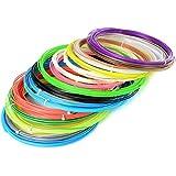 Vangold Colorfully Sample Pack ABS 1.75mm 3D Print Filament For 3D Printer Pen - 6m/20 ft Per Color (12 pcs) by Vangold