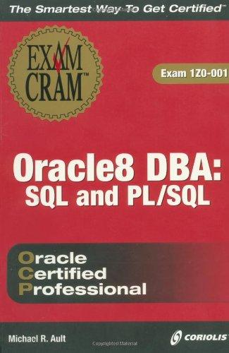 Oracle 8 PL/SQL Exam Cram por Margaret R. Ault