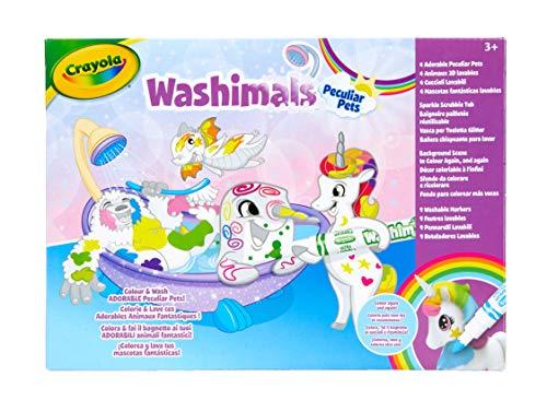 CRAYOLA 74-7354-E-000 Washimals Peculiar Juego de Mascotas, Multi