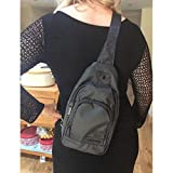 Vastfire Small Water Repellent Sling Bag With Long Strap use for Daypack, Everyday Purse, Unisex, perfect for Outdoor Concerts , Festivals, Excursion