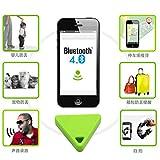 Gogogo Dreieck drahtloses Bluetooth Indikator Anti-verloren Gerät Artikel Sucher Verzeichnis für Schlüssel Haustier Kinder Gepäck Brieftasche Indikator (Grün)