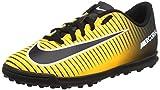 Nike Jr Mercurialx Vortex III TF, Botas de Fútbol Unisex Infantil, Naranja (Laser Orange/Black/White/Volt), 32 EU