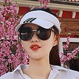 YXLMZ Meine Damen Frauen Hüte Keine Top Hat Leer Top Hat Baseball Cap Männlichen Cap Sommer Outdoor Sonnenblende Tennis Cap Weiss/B