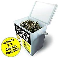 Reisser Screws 8221480PB Reisser Cutter Tubs 4mm x 80mm Box of 500 Wood Screws