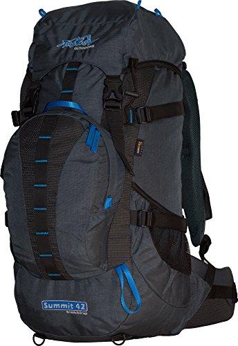Zaino TASHEV Summit 40litri zaino da escursionismo in Cordura®, grigio-verde (nero) - SUMMIT 40 grigio blu