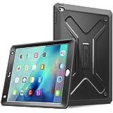 iPad Mini 4 Hülle - Poetic [Revolution Series] - [Heavy Duty] [Dual Layer] Complete Protection Hybridtasche mit integrierter Displayschutzfolie für iPad Mini 4 (2015) Schwarz (3 Jahre Herstellergarantie von Poetic)