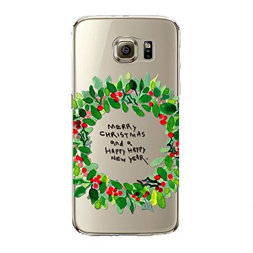 Coque iPhone 6/6S , iNenk® Bande dessinée de Noël Creative Trade Ultra mince Housse de protection souple peinte TPU Mode cadeau de bonhomme de neige de Santa Joyeux Noël mignon-modèle 15 Motif 5