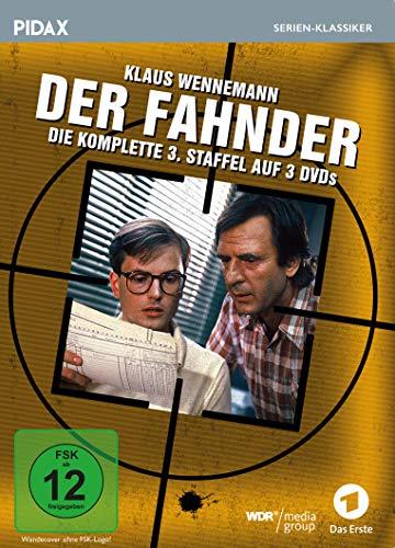 Der Fahnder, Staffel 3 / Weitere 12 Folgen der preisgekrönten Kult-Krimiserie (Pidax Serien-Klassiker) [3 DVDs]