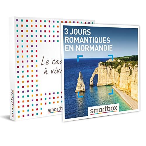 SMARTBOX - Coffret cadeau - 3 jours romantiques en Normandie - idée cadeau - 2 nuits...