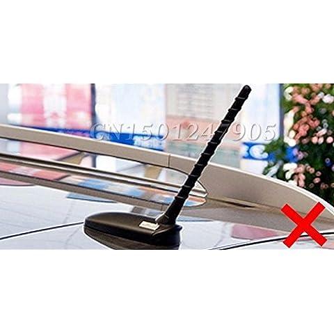 vyage (TM)–Speciale Auto con Segnale Radio Antenna Pinna Di Squalo pinna di squalo bianco per Hyundai ix35ix45sonata8, Verna, Solaris, Santa Fe elantra