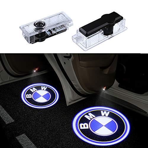2xWillkommen Licht|Einstiegsbeleuchtung auto|Auto Türbeleuchtung|Licht Türbeleuchtung 3D LOGO Einstiegsbeleuchtung Projektion LED Licht Door Shadow