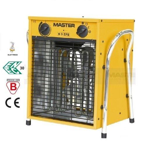 Master elettrico Termoventilatore B 9EPB 9KW, 400V, 3Livelli di Riscaldamento con 1,8m...