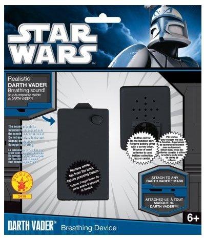 Kit effetto sonoro Dart Fener Star Wars kit per imitare la voce di darth fener giocattolo con licenza ufficiale star wars travestimento carnevale halloween cosplay guerre