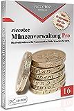 M�nzen Software - Stecotec M�nzen-Verwaltung Pro 16 - Programm f. Ihre M�nzsammlung - Numismatik - Datenbank - CD-ROM Bild