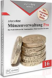Münzen Software Stecotec Münzen Verwaltung Pro 16 Programm F