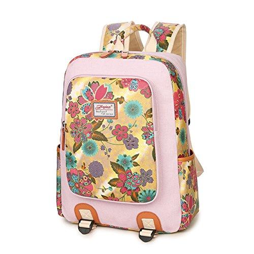 Zaino in tela/borsa Liceo Studentesse/Sacchetto di svago coreano/Semplice moda Joker laptop bag-C D