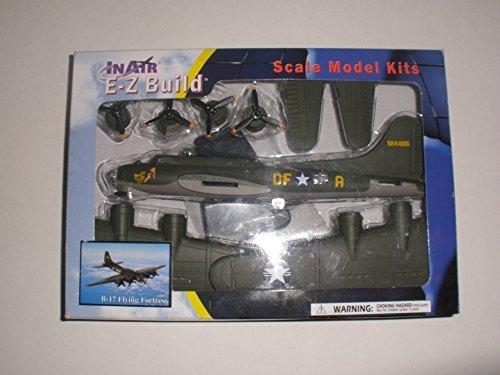 InAir E-Z Build Model Kit - B-17 Flying Fortress, Memphis Belle by InAir E-Z Build (B Kit 17 Model)