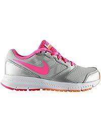 Nike Downshifter 6, Zapatillas de Running Para Niñas, Gris / Rosa, 38 EU