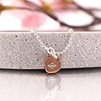 Personalisiertes Silberarmband Herz rosevergoldet, Namensarmband, Armband mit Gravur, personalisiertes Armband, Armband mit Namensgravur, 925er Silber rosevergoldet