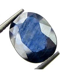 Barmunda gems Lab-Certified Unheated Untreated 6.25 Ratti Cylone Quality Blue Sapphire Neelam