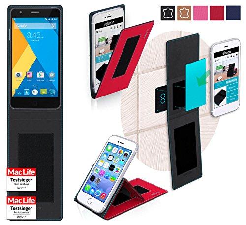 reboon Hülle für Elephone P7000 Tasche Cover Case Bumper | Rot | Testsieger