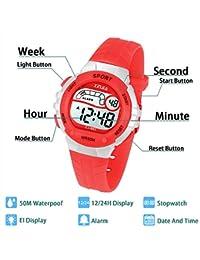 Reloj Digital para Niña Niño,Chicos Chicas 50M(5ATM) Impermeabl Deportes al Aire