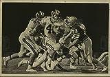 Historique des Images Press Photo David Darr, Churchill High School Joueur de Football à Jeu de Holmes–7x 10en