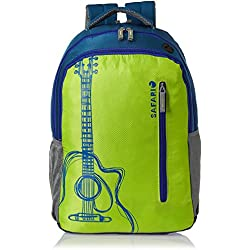 Safari 32 ltrs Laptop Bag (Guitar-Green-LB)
