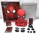 Marvel 761623Altavoz Bluetooth Spiderman con proyector Rojo/Negro/Dorado