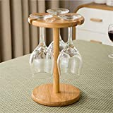 WLIXZ Weinflaschenhalter, für Bar, Küche, Arbeitsplatte, Büro, Holz- und Glas-Wäscheständer zum Aufhängen,1