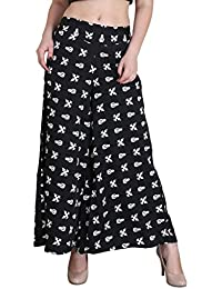Hipe Indian Ethnic Designer Printed Casual Wear Palazzo Pant For Women's