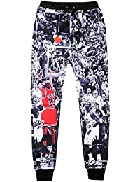 BOMOVO - Chándal para hombre, Pantalones De Chandal Baloncesto NBA XS-XXXL